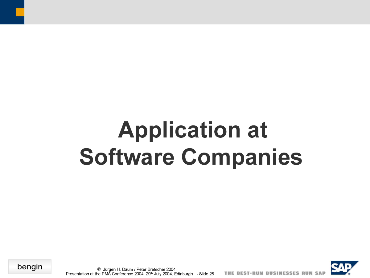 Software Companies