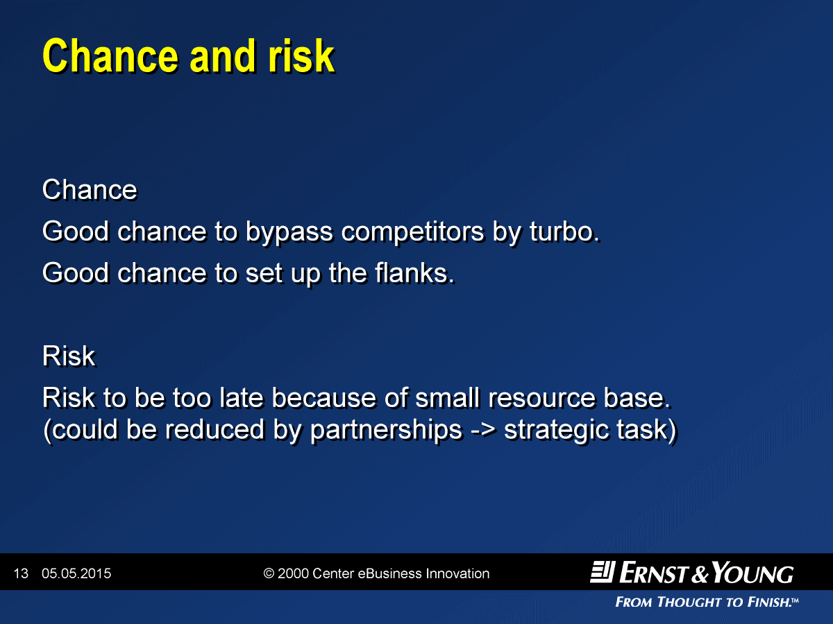Chance and Risk